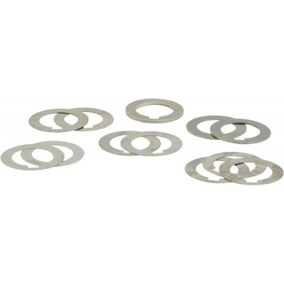 Sada utahovacích kroužků na frézu tvar A 22mm 60 ks. FORTIS