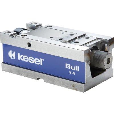 5osý svěrák mechanický BULL5-S 125 bez čelistí KESEL