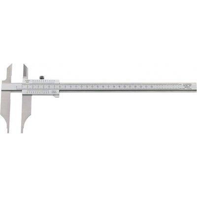 Dílenská posuvná měřítka odečítání bez paralaxy + měřicí hroty 250x80mm FORMAT