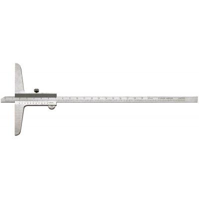 Posuvný hloubkoměr 200mm 1/50 FORTIS