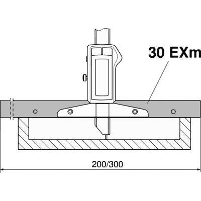 Měřicí můstek, 200 mm MAHR