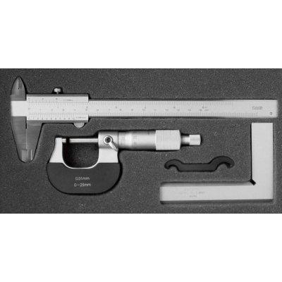 Sada měřicí nástroje, 3 ks. FORTIS