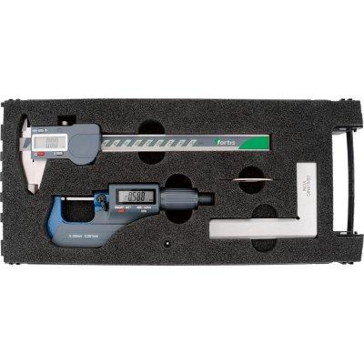 Sada měřicí nástroje, 3 ks. digitální FORTIS