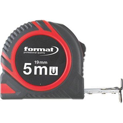 Kapesní svinovací metr 5mx19mm magnet FORMAT