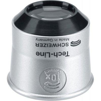 Hodinářská lupa Tech-Line 10xD22,5mm SCHWEIZER