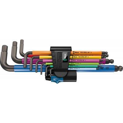 Sada inbusové klíče Multicolor přídržná funkce, 9 ks. Wera