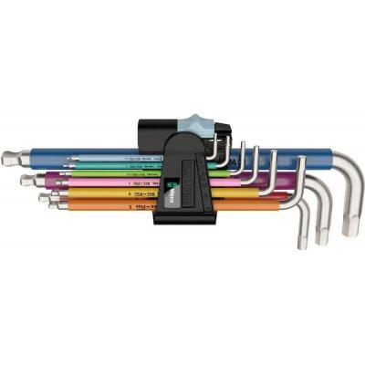 Sada inbusové klíče Multicolor nerez 9 ks. Wera