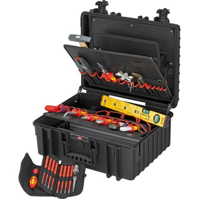Kufr na nářadí Robust 34 pro elektrikáře 26 ks. KNIPEX