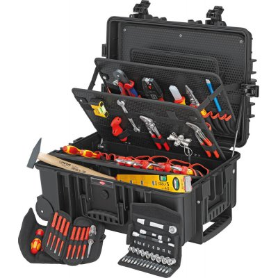 Kufr na nářadí Robust 45 pro elektrikáře 63 ks KNIPEX