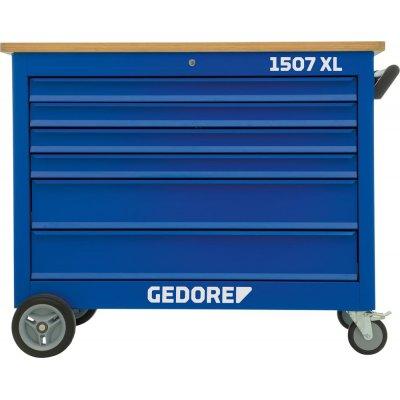 Pojízdný pracovní stůl 1507XL, 7 zásuvek 1250x550x985mm GEDORE