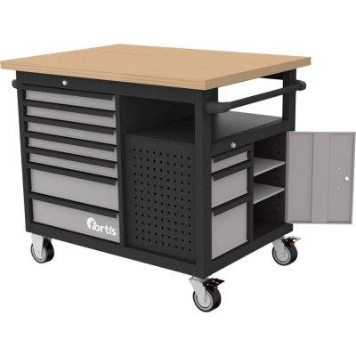 Pojízdný pracovní stůl 1120x790x1005mm FORTIS