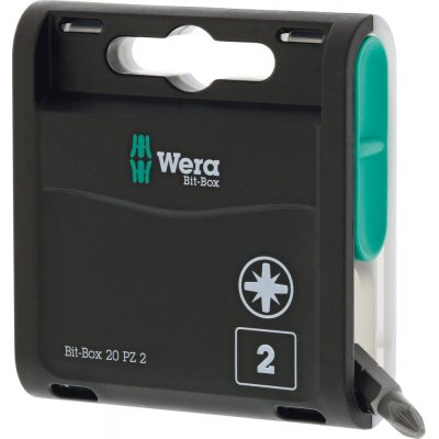 Box s bity 20H, 20 ks. Bity PZ2x25mm Wera