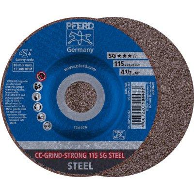 Brusný kotouč CC-GRIND STRONG-STEEL 115mm PFERD