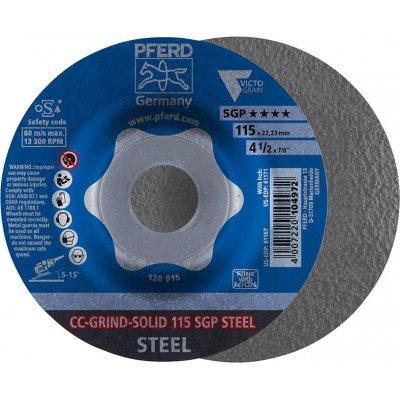 Brusný kotouč CC-GRIND Solid SGP STEEL 115mm PFERD