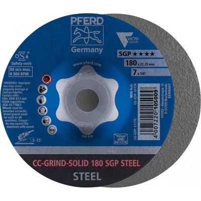 Brusný kotouč CC-GRIND Solid SGP STEEL 180mm PFERD