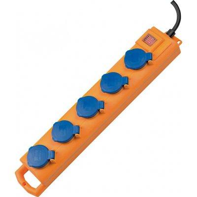 Zásuvkový rozvaděč 5 zásuvek H07RN-F3G1,5 2m brennenstuhl