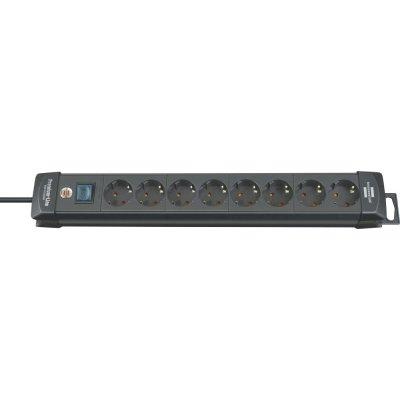 Zásuvková lišta Premium 8 zásuvek H05VV-F3G1,5 3m brennenstuhl