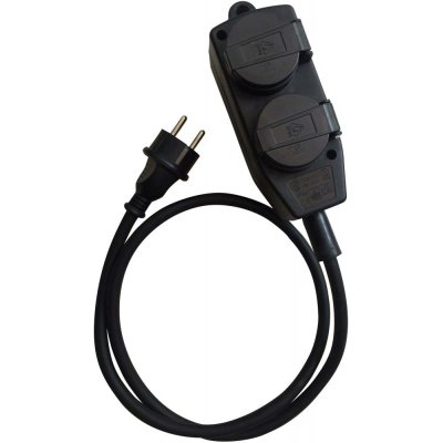 Prodlužovací kabel, 4 zásvuky H07RN-F3G1,5 5m FORTIS