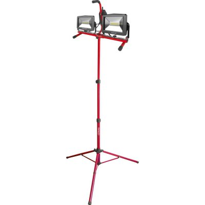 Dvojitý LED zářič se stativem 2x30W FORMAT