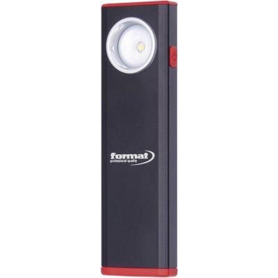Ruční lampa aku LED hliník 380lm FORMAT