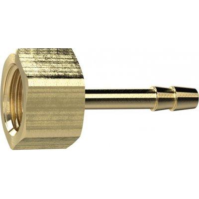"""Závitová koncovka hadice mosaz IG G1/4"""" vnitřní O hadice 8mm RIEGLER"""