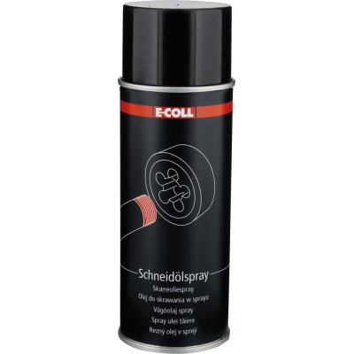 Řezný olej, sprejová dóza 400 ml E-COLL EE