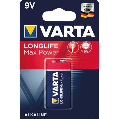 Baterie MAX TECH 9 V block 1 kus v blistr ks. VARTA