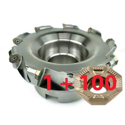 Sada 100ks VBD OFMT05T3 + rovinná fréza pro 9x VBD