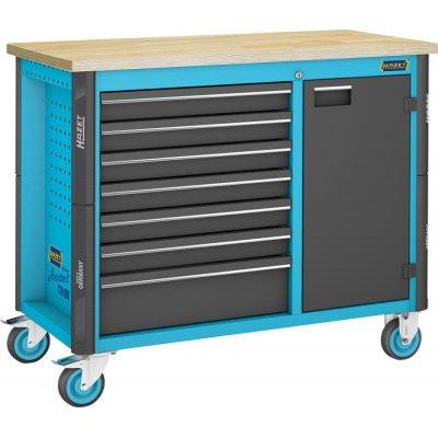 Pojízdný pracovní stůl 179NW-7 970x1150x600mm HAZET