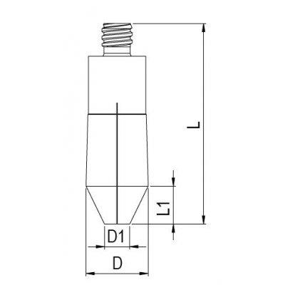 Upínací pouzdro APC 20 průměr 4mm kuželovité Albrecht