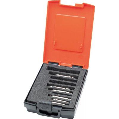 Sada středicích vrtáků DIN333 HSS tvar A 0,5-4,0mm 7 ks Format