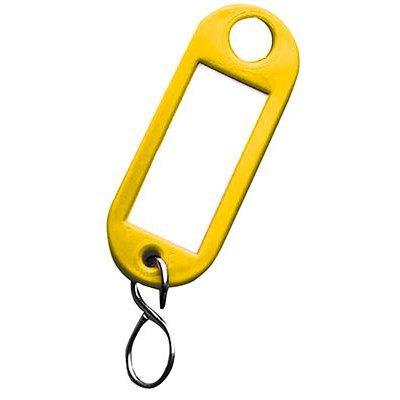 Přívěsek na klíče 1000 žlutý 100 ks