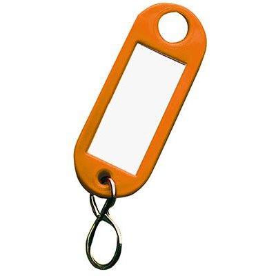 Přívěsek na klíče 1000 oranžový 100 ks