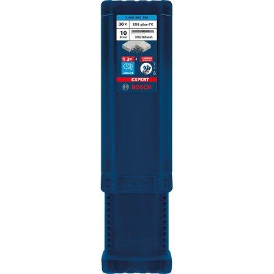 Klad.vrták SDS-plus 7x 10x200x265mm 30ks EXPERT Bosch
