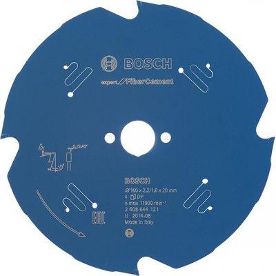 List kotoucové pily HM 160x2,2x20mm Z4 TF BoschExpert vláknity cement