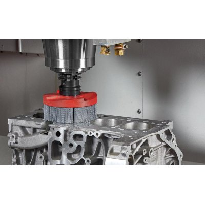 CNC talir.kartác HFB SiC 150x40mm, K 80, B32 DKN Lessmann - obrázek