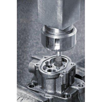 Stetcovy kartác,ocel.dr. vln. 17x22/65x0,3mm Lessmann - obrázek
