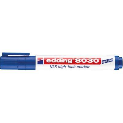 Popis. HighTech8030NLS modry edding - obrázek