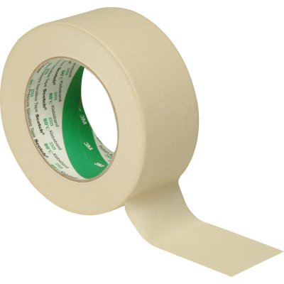 Kryci lepici páska 201E krepová - provedeni48 mm x 50 m 3M