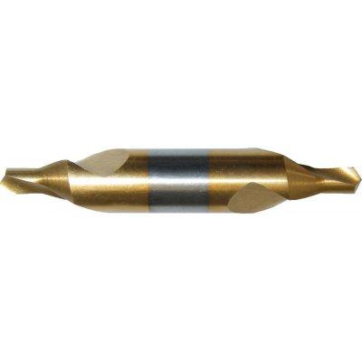 Středicí vrták DIN333 HSS TiN tvar A 1mm FORMAT
