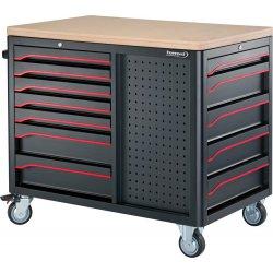 Dílenské vozíky a stoly na nářadí